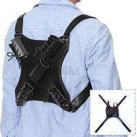 PU Leather Sword Belt Backpack Holster Medieval Hanger Dancewear Cosplay Holder