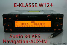 Original Mercedes Audio 30 APS AUX-IN MP3 W124 Navigationssystem E-Klasse Navi