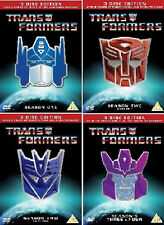 TRANSFORMERS COMPLETE ORIGINAL ANIMATED CARTOON SERIES DVD UK Release New R2