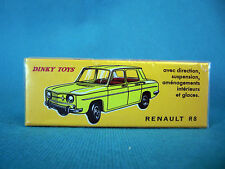 DINKY TOYS RENAULT R8  ÉDITION ATLAS 517