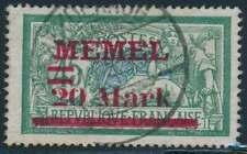 Memel Nr. 39 I gestempelt (54603)