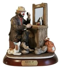 Flambro Emmett Kelly Jr Signature Collection Making Up 9852 Limited Edition