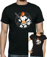 STAR WARS STORM TROOPER BABE T-shirt  Up to 5XL