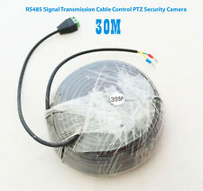 RS485 Signal Transmission Cable Control PTZ Security Camera