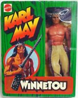 BIG JIM ☆ KARL MAY WINNETOU ☆ GRIP HAND '77 #9404 REPROBOX ►NEW◄ COMPLETO PERFEC