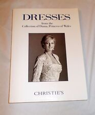 Lmtd Ed Christie's Auction Catalog The Collection of Princess Diana Dresses 1997