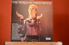 David Bowie  The world of David Bowie Decca SPA 58 1970 UK Vinyl LP NM 1041