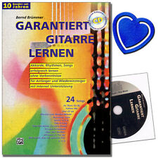 Garantiert Gitarre lernen - Gitarrenschule mit CD - 20106G  - 9783933136169