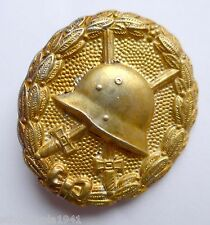 Verwundetenabzeichen in Stufe Gold gut erhalten selten