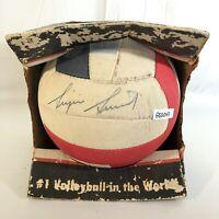Sinjin Smith World Champion Volleyball - Signed Autograph Mikasa Vintage Ball