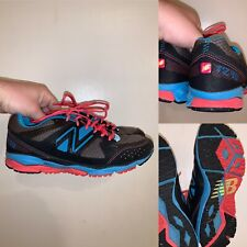 New Balance 1290 Womens Size 7.5 Running Shoes Black Blue Pink Made In USA