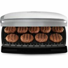 Non Stick Plate Grill Cooker Electric Cooking Burgers Meat Portable Electric New