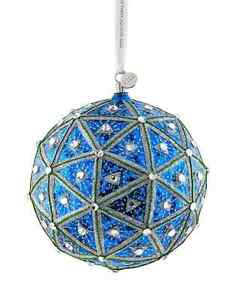 2022 Waterford Crystal Times Square Masterpiece Ball Ornament, Brand New in Box