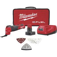 Milwaukee M12 FUEL Oscillating Multi-Tool Kit
