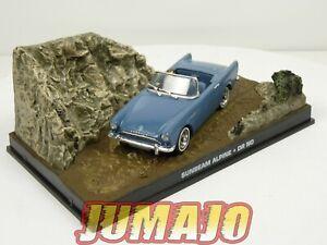 JB17 voiture 1/43 IXO 007 JAMES BOND Sunbeam alpine DR NO