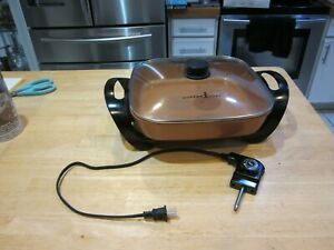 Copper Chef Electric Skillet - Buffet Server - for Steaming cm-813