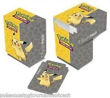 Ultra Pro Pokemon TCG Pikachu Deck Box Card Storage/Holder With Divider