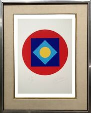 LUCIENNE OLIVIERI (1910-2007) RARE LITHOGRAPHIE ORIGINALE ABSTRACTION (1)