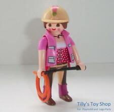 Playmobil   Jockey/Rider Lady Figure- Horse Riding Sets-Series 14 Set 9444 - NEW