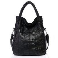 Fashion Genuine Leather Women's Handbag Shoulder Tote Bag Satchel Shopper Bags