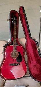 Model 5042 Alvarez 6 string commemorative acoustic guitar from 1982 , #000187