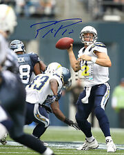 "Philip Rivers NFL San Diego Chargers 8""x 10"" Signed Color PHOTO REPRINT"