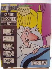 CAHIERS DE LA BANDE DESSINEE N° 57 SCHTROUMPF  FRANC