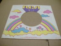 Company Sleeve 45 RCA Rainbow & Clouds on