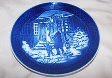 "Royal Copenhagen Christmas Plate 1994 ""Christmas Shopping�"