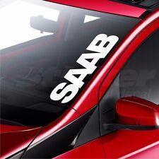 SAAB Car Windscreen Sticker Rear Window Bumper Decal