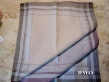 6 mouchoirs homme 100% coton tissées n°200