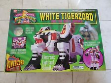Bandai Mighty Morphin Power Rangers WHITE TIGERZORD w/ White Ranger 1994