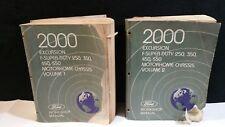 2000 FORD FACTORY  EXCURSION / F  SUPER  DUTY  WORKSHOP  MANUAL VOL1& 2.