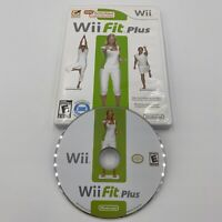 Wii Fit Plus (Wii, 2009) Balance Board Game