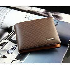 Neuf Mode Pour hommes élégants sont portefeuille en  PU cuir carte de poche