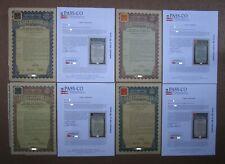 1938 República China 27th año $5 $10 $50 $100 oro China bonos no Petchili