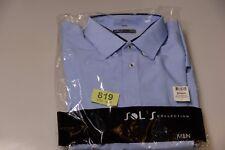 Da Uomo SOL'S COLLECTION Formale/Lavoro Camicia Bright Sky Blue L (tag819)