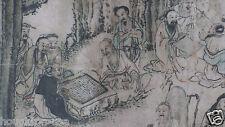 "Ming Dynasty ""One-Hundred Old Men"" 11' Handscroll by Chen Hongshan (1599-1652)"