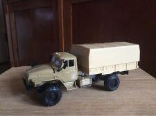 Ural 43206 awning  truck 1:43 USSR car 1/43 model