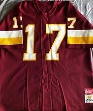 VTG 80s (L) Doug WIlliams WASHINGTON REDSKINS  17 Red Football Jersey Super  Bowl b033a9f22