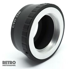 M42-M4/3 M42 Fit Lens to M4/3 M43 Micro Four Thirds Adapter Ring - UK Stock