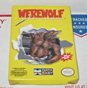 WEREWOLF Nintendo NES ORIGINAL BOX Not A Repro No Manual Book No Game Authentic