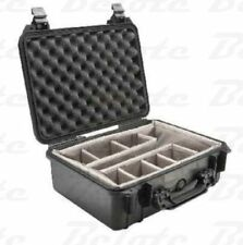 Pelican 1554 Case Black w/ Dividers 20.5x17.1x8.5 *NEW*