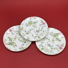 Wedgwood Set Of 3 Sweet Plum 20cm Side Plates - Brand New Factory 2nds