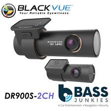 Blackvue DR900S-2CH - 16GB 8-Megapixel CMOS 4K HD Ultra Wide Car Dash Camera