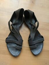 Cydwoq Vintage Handmade Leather Sandals Trend Brown Crackled 40 9 9.5