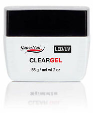 SuperNail LED/UV Clear Gel  56g / 2oz - 51603
