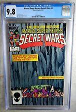 Marvel Super Heroes Secret Wars #4 1984 CGC 9.8 NM/MT White Pages Comic R0095