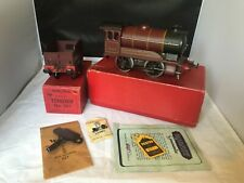 VINTAGE HORNBY / MECCANO O GAUGE TINPLATE No 501  LMS 5600 LOCO & TENDER  BOXED