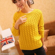 HH Winter Warm Women Slim Long Sleeve Knitted Sweater Tops Cardigan Outwear Coat